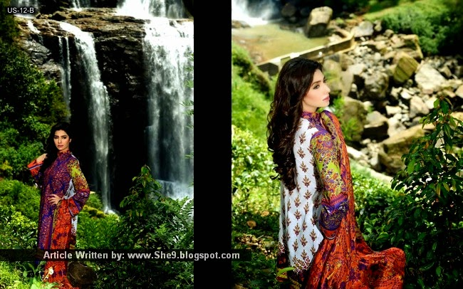 House of Umar Sayeed Lawn Collection 2015