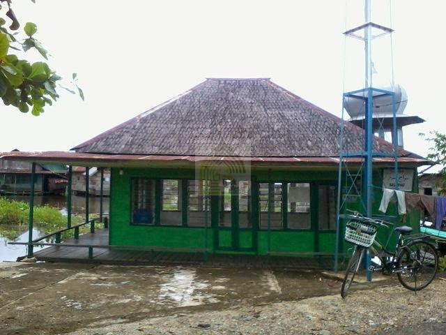 Langgar Sirajul Munir di desa Balimau,