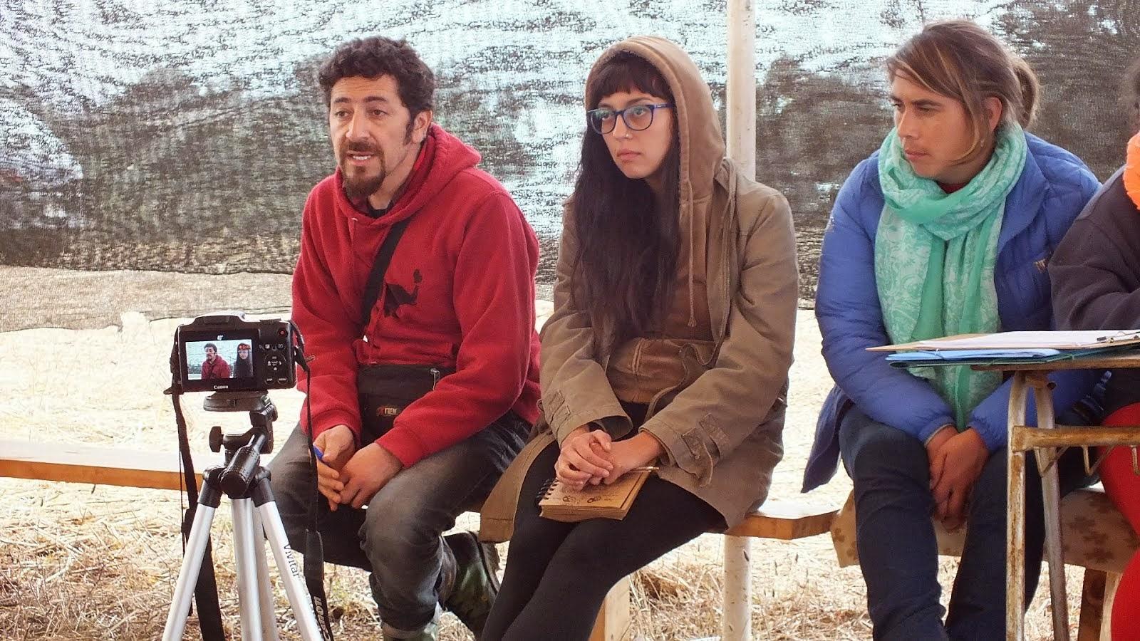 Fot. Participantes Radio Manque y La Voz de Nueva Braunau