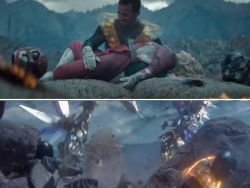 Filem Power Ranger Versi Ganas