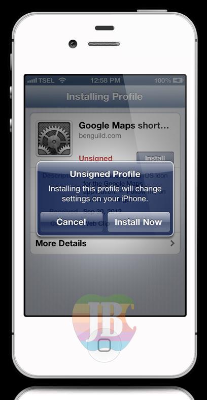Jailbreak 6.1.3 iOS 7: Cara Install Google Maps dan ...
