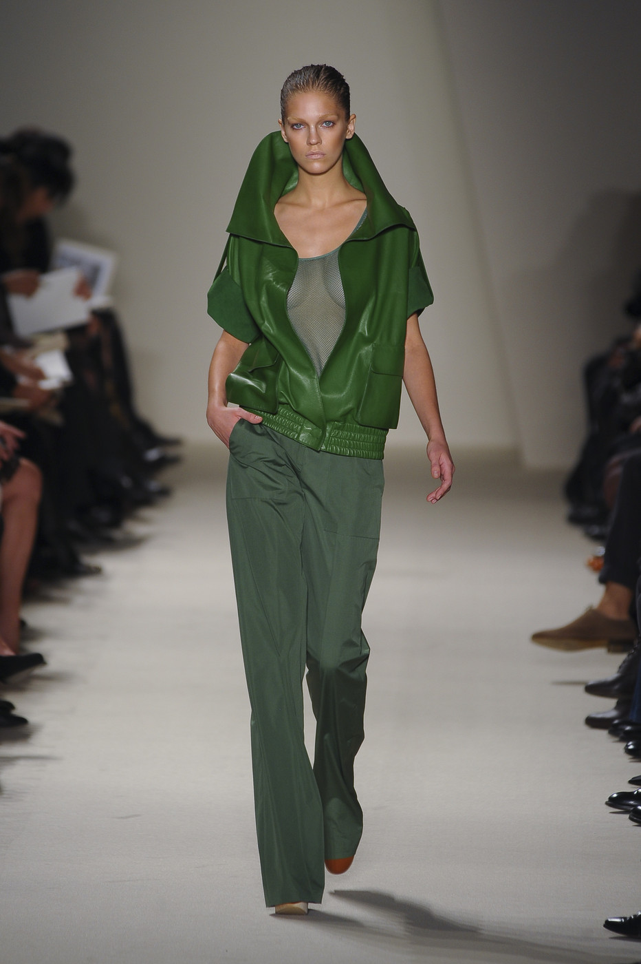 via fashioned by love | Akris Spring/Summer 2011 | green