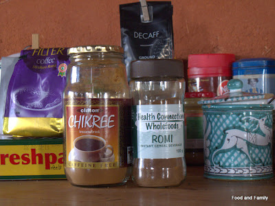Chicory alternatives to coffee