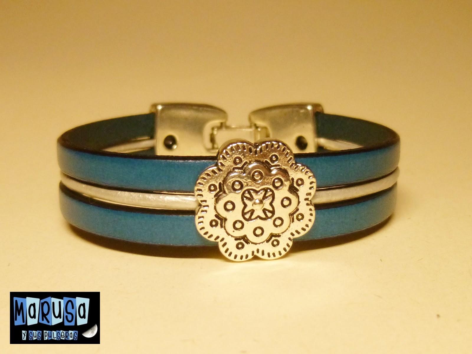 pulsera piel marusa bonita original barata € regalo reyes madre novia