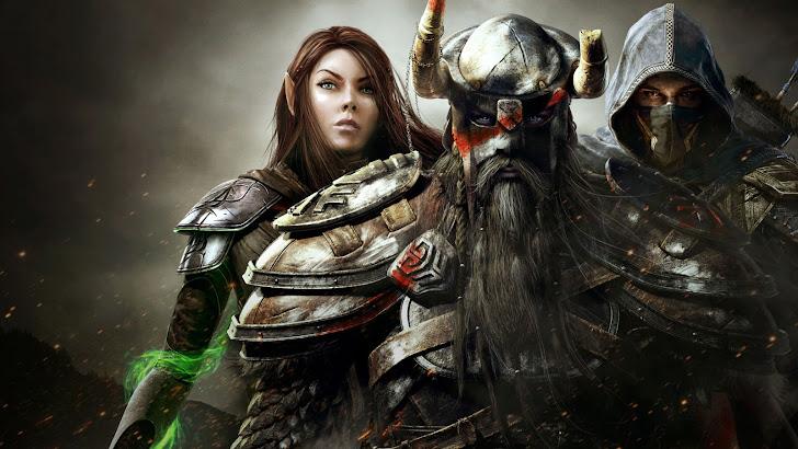 Sorcerer Warrior Nightblade Elders Scroll