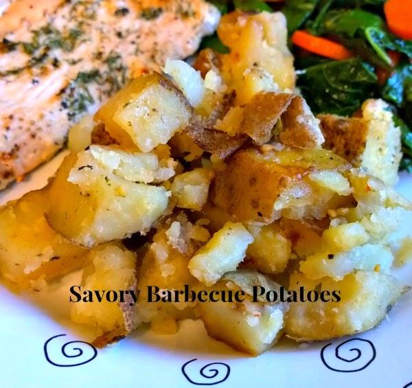 foil packet potatoes, bbq potatoes