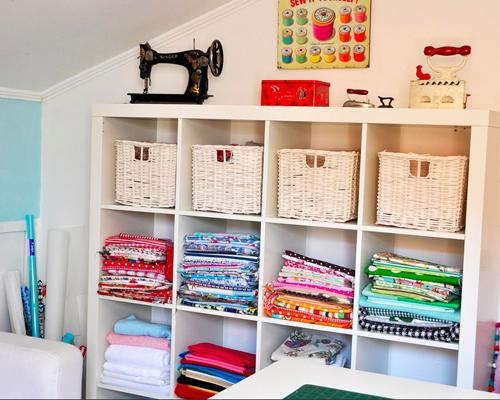 Sewing Room Storage 500 x 400