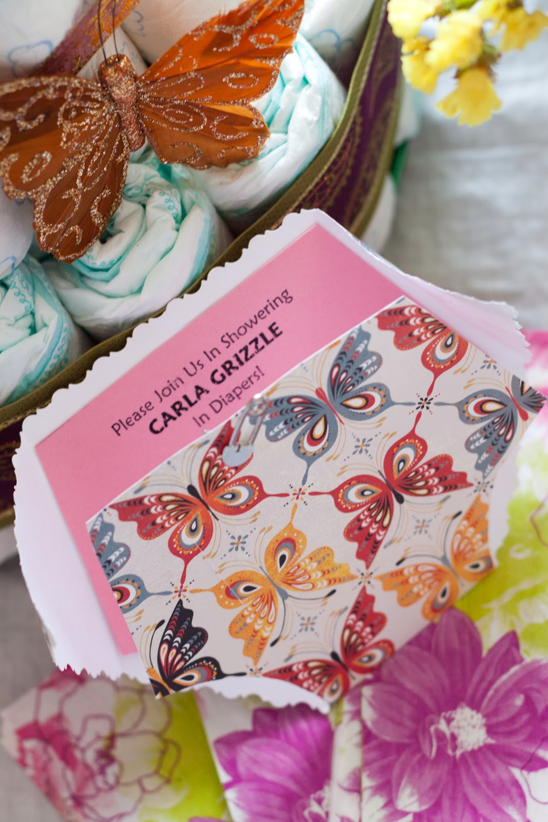 Measurements of Merriment: Enchanting Butterfly Baby Shower
