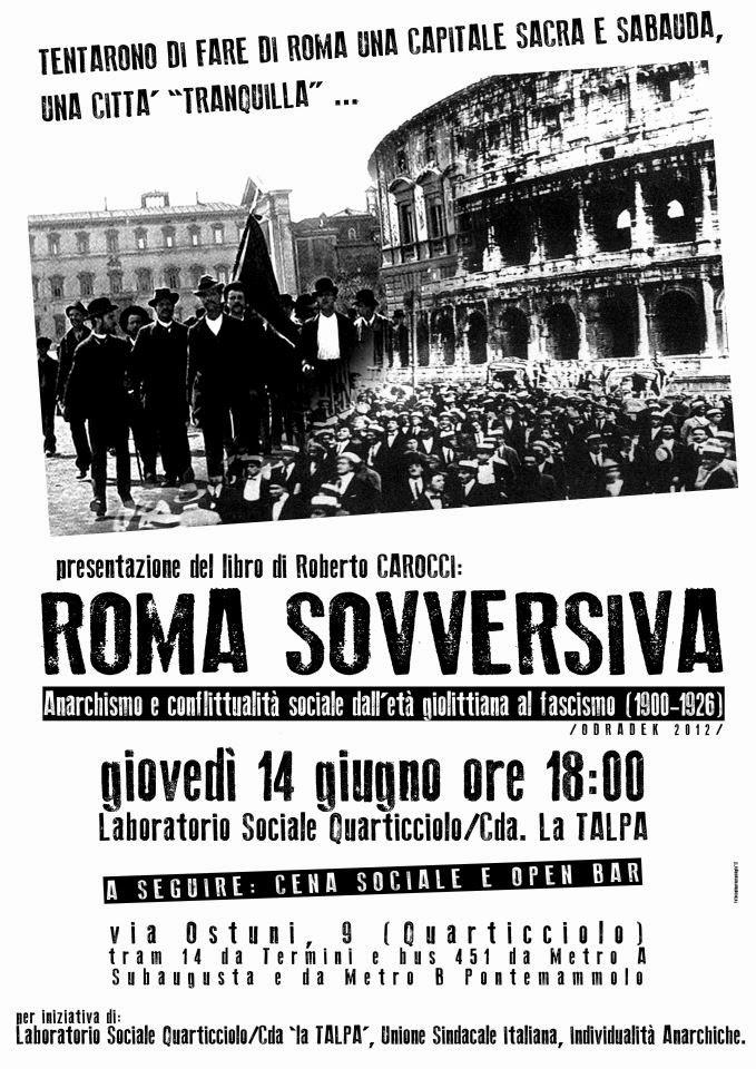 presentazione Roma Sovversiva