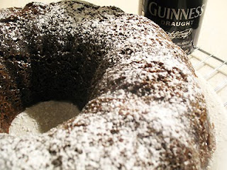 Guinness Gingerbread Cake