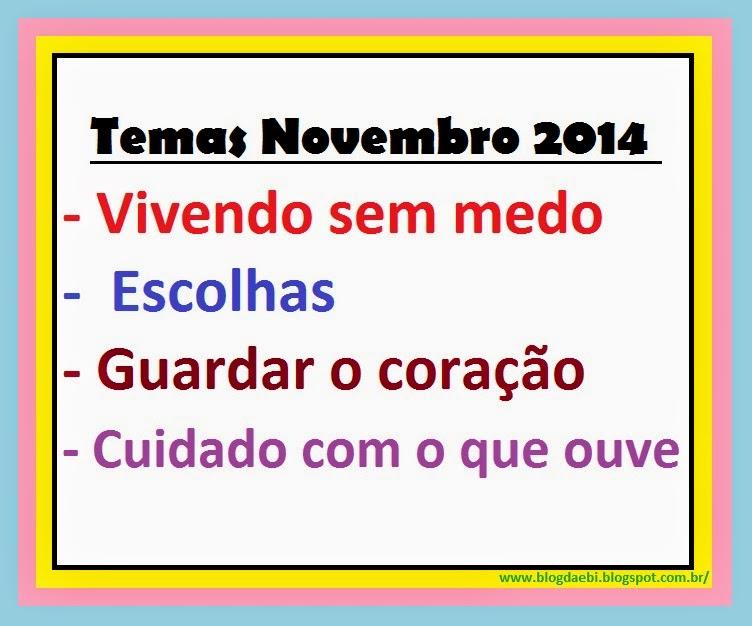 Temas Novembro