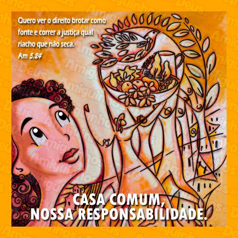 cartaz da campanha da fraternidade 2016 desenho