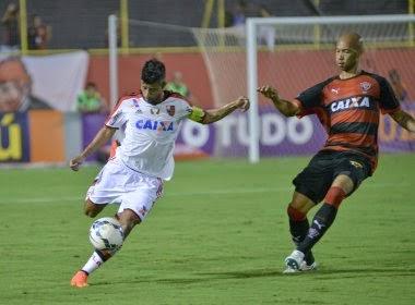 Vitória é goleado pelo Flamengo