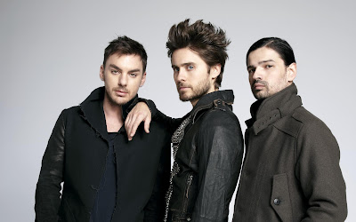 30 Seconds to Mars - Jared Leto, Shannon Leto, Tomo Miličević 2013-2014