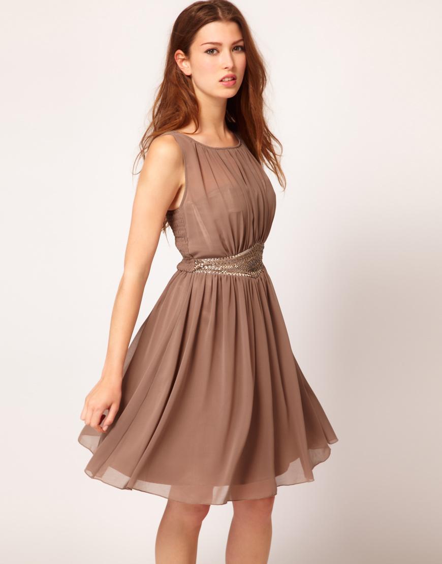 fashion for linda little mistress embellished waistband dress. Black Bedroom Furniture Sets. Home Design Ideas