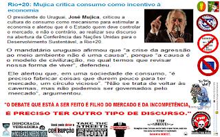 ANSA, Brasil, Presidente, Uruguai, Critica, Cultura, Liberalização, Mercado, Consumo, Economia, Video, Debate, Discussão, Mercados, Incompetência, José Pepe Mujica, Conferência, Mujica, Cavernas