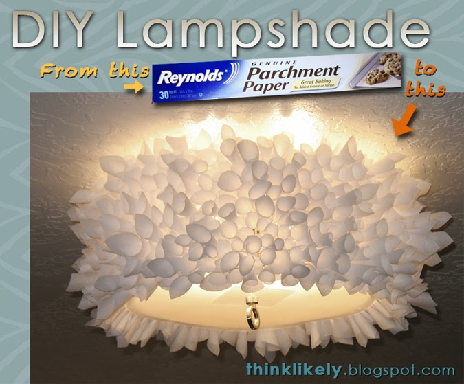 Think likely parchment paper lamp shade parchment paper lamp shade aloadofball Choice Image