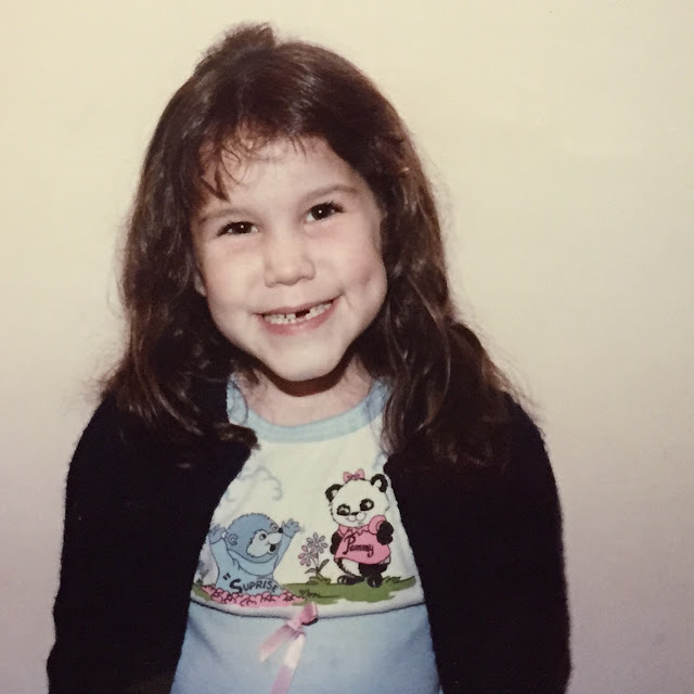 Jamie Allison Sanders, 1980s, losing teeth, lost teeth, Tooth Fairy, smiling, huge smile, toothless grin