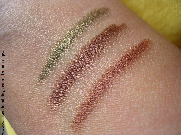 chanel le crayon yeux precision eye definer brun cuivre khaki dore bronze reviews swatches