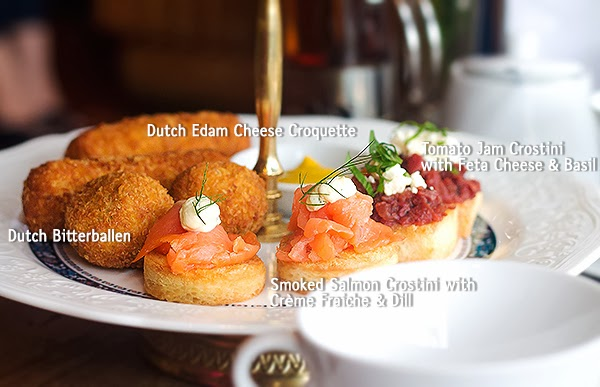 Savoury Snacks - Afternoon Tea for Two at Canteen Plaza Indonesia