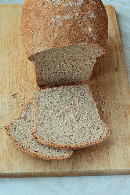Wholemeal Yeast Bread, just the best toast you'll ever eat! GoodFoodShared