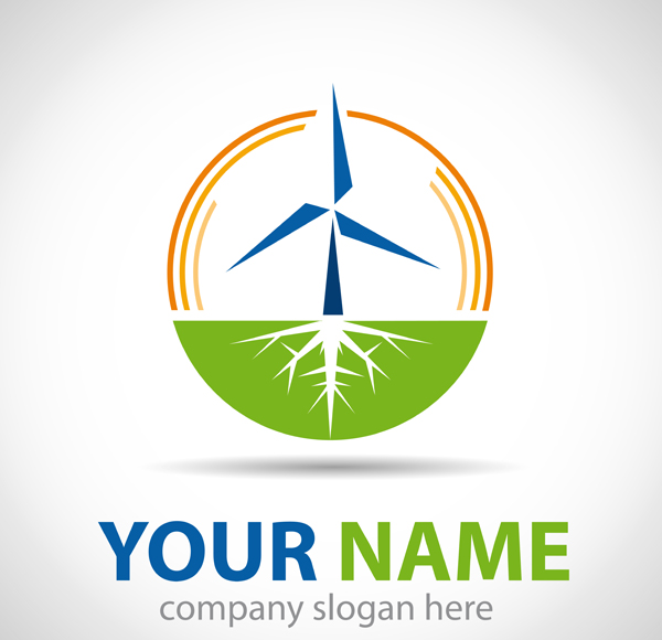 freevector21 logo wind energy