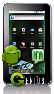 Harga Nexian Genius A7500 tablet 3.5 fitur Spesifikasi