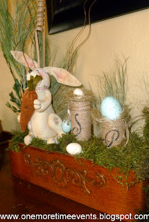 Easter Arrangement at One More Time Events.com