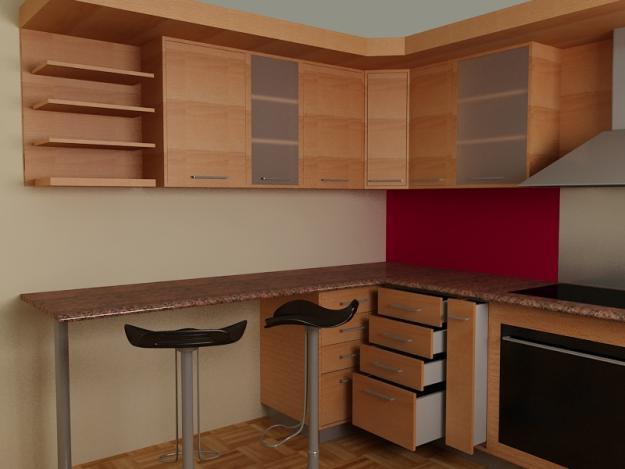 Fm carpinteria cocinas - Imagenes de cocinas empotradas ...