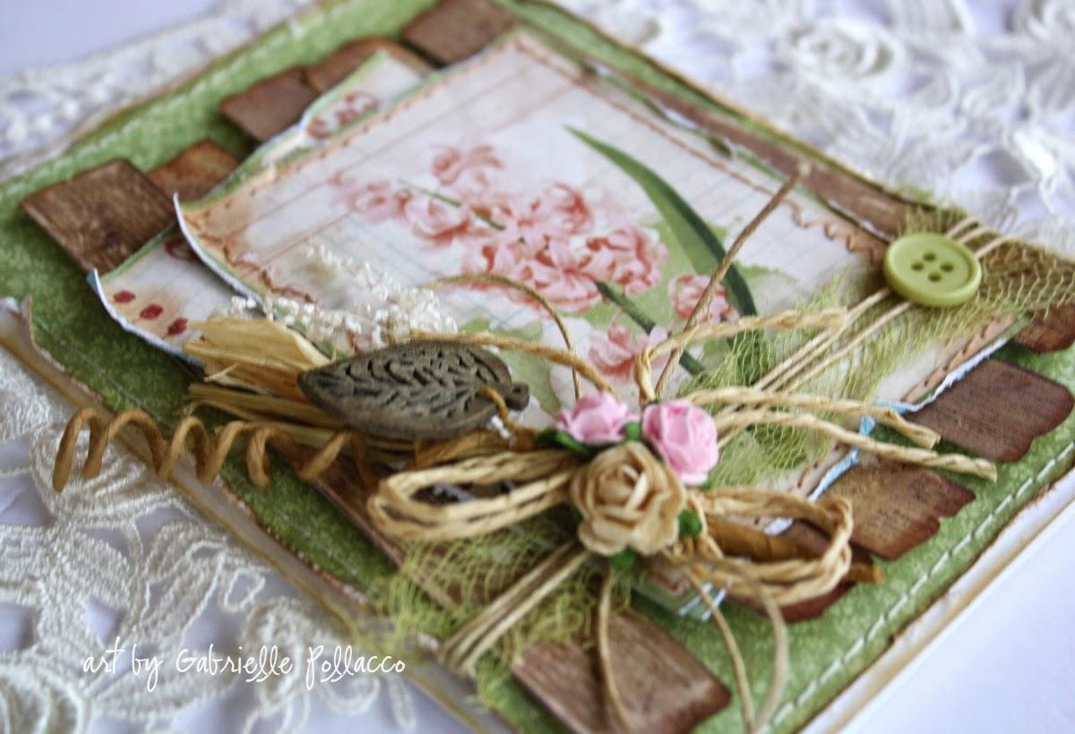Such a Pretty Mess Garden Journal Cards Bo Bunny