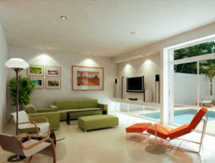 Interiores de casas sala comedor for Como decorar mi casa moderna