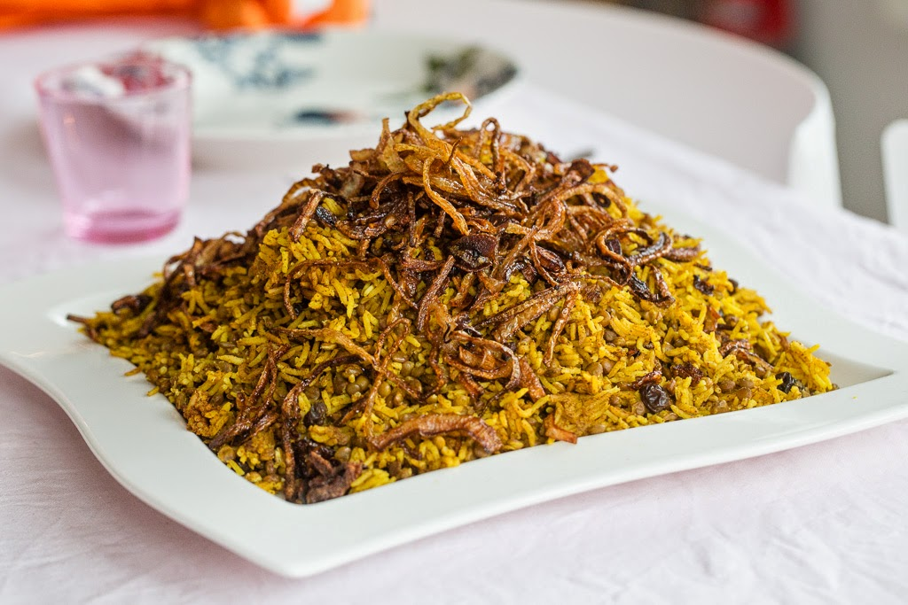 välimeren mausteinen riisi