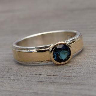 tourmaline engagement ring