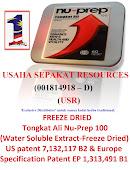 Produk Nu-Prep,Usaha Sepakat Resources 'Exclusive Distributor' kedai herba dan belian 'OnLine' USR
