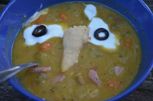 Recipe Shoebox: Green Monster Soup (Split Pea)
