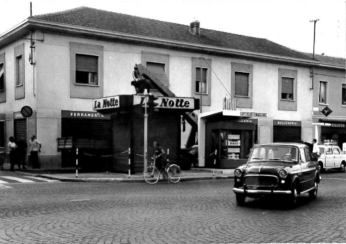 Piazza del popolo 1963