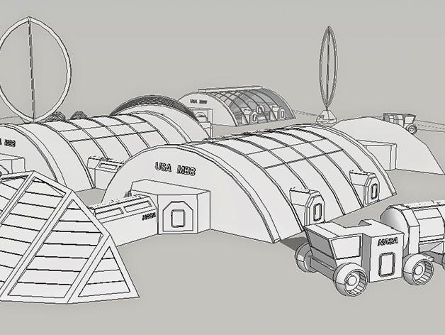 mars base design - photo #9