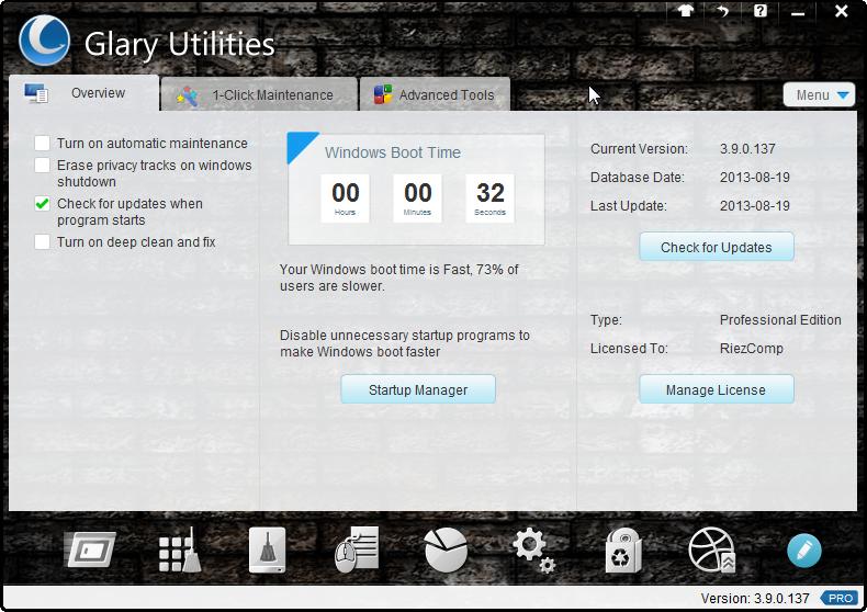 Keunggulan Glary Utilities Pro Terbaru