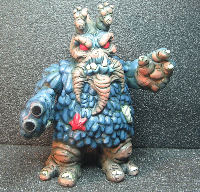 Hand Painted Podiagon Resin Figure by Halfbad Toyz