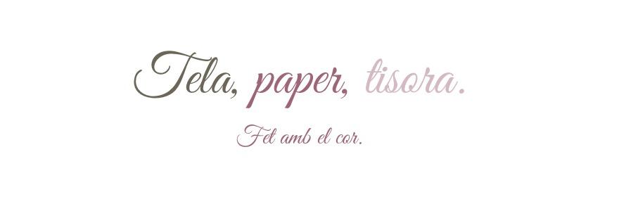 Tela, paper, tisora