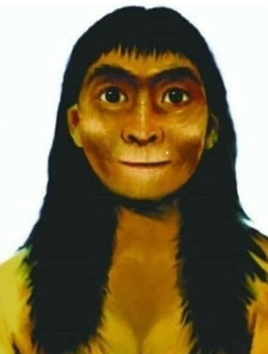 homo erectus female 300,000 years old