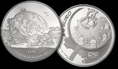 Une pièce de 10 euros Argent « Astérix chez les Pictes » à gagner!