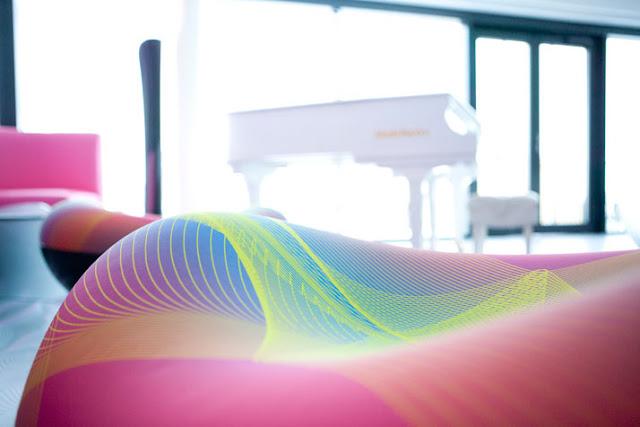 Hotelzimmer im Suite-Stil mit Klavier!