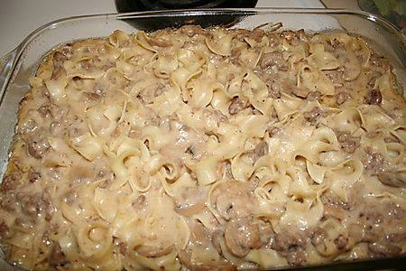 enjoy & have a nice meal !!!: beef stroganoff casserole !!!