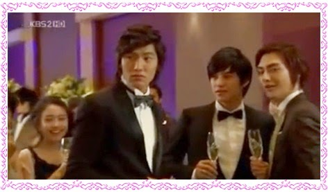 Lee Min-Ho Koo Jun-Pyo Kim Beom  So Ye-Jeong Kim Jun Song Woo-Bin Boys over Flowers