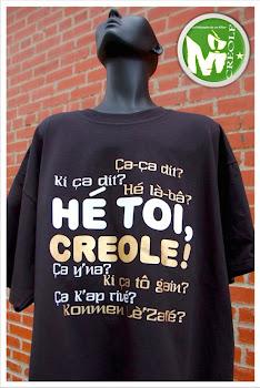 HÉ TOI, CREOLE! T-SHIRT