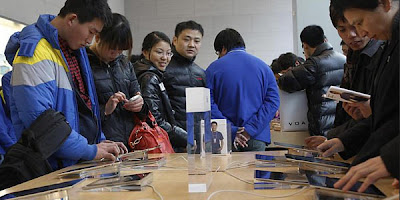 China, the State's Largest Consumer Products Apple