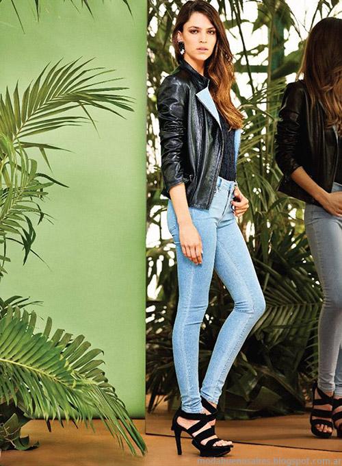 Moda Jeans Naima primavera verano 2015.