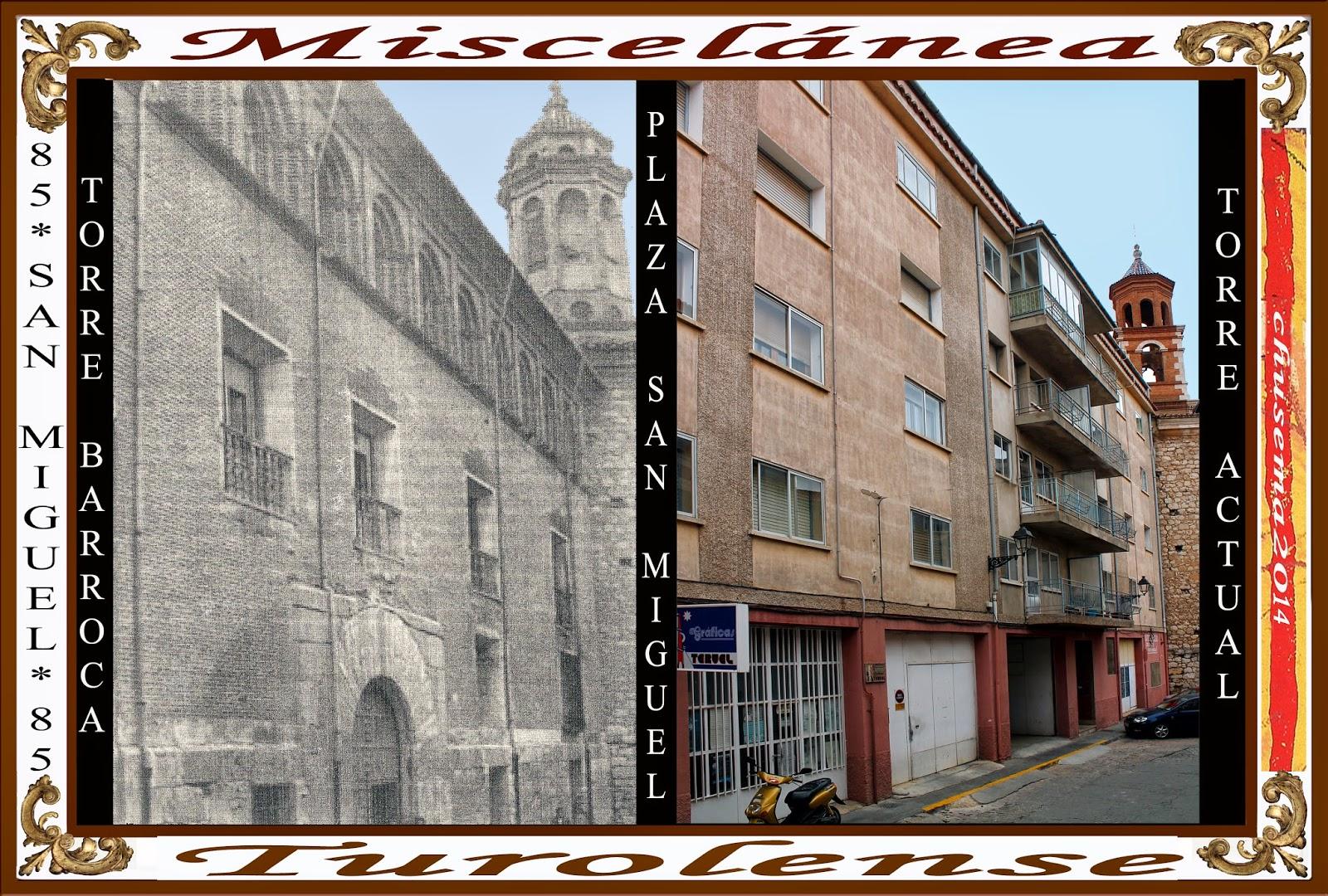Miscel nea turolense abril2014 miscel nea la casa palacio de la calle de san miguel en teruel - La casa del cura teruel ...