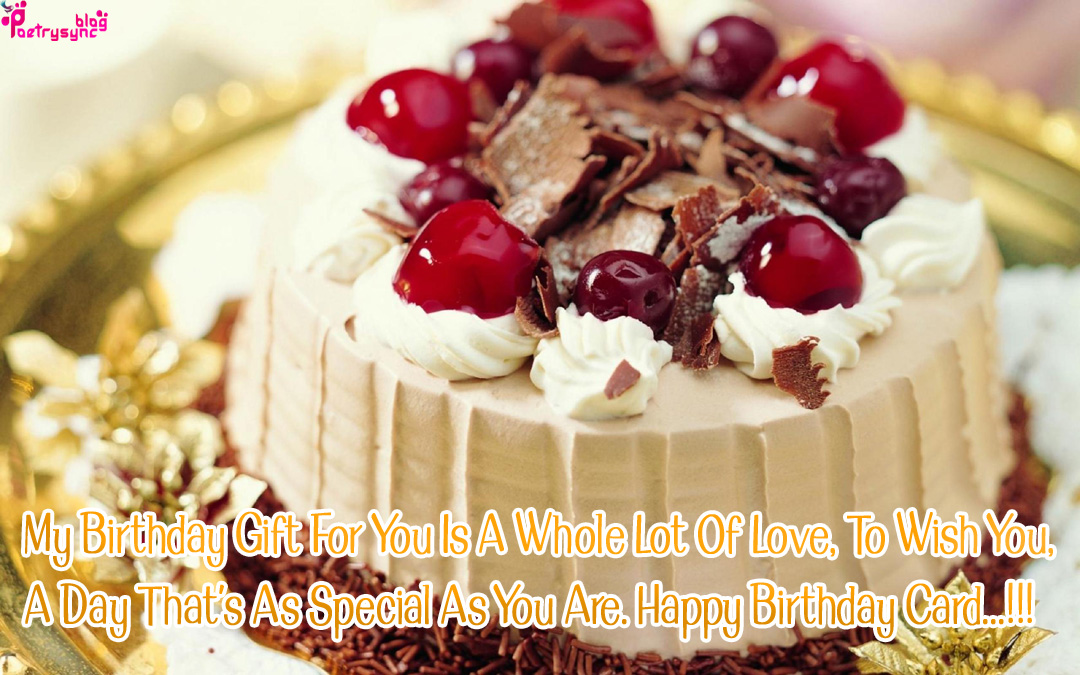 Birthday Cake With Name Qamar ~ Sad and love poetry happy birthday wishes with cake images for
